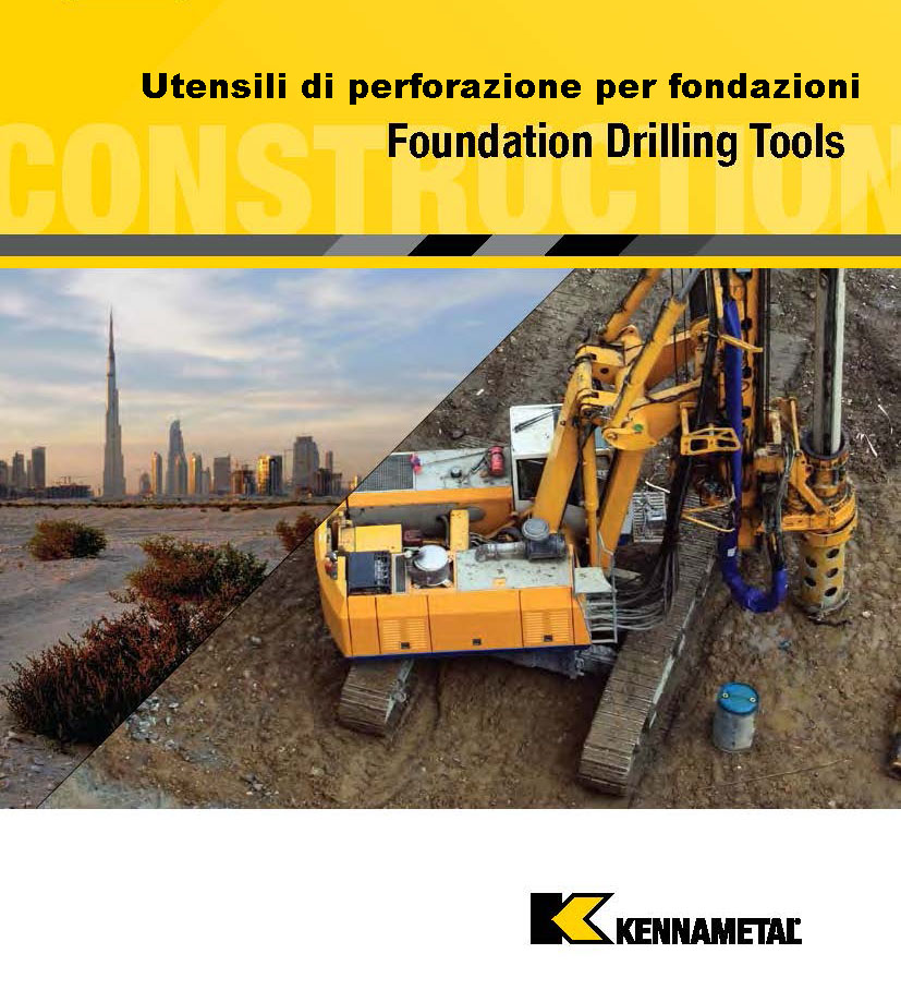 - FOUNDATION DRILLING TOOLS, BLOCKS AND ACCESSORIES